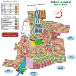 Gulberg Housing Scheme Islamabad Master Plan