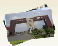 FDA City Faisalabad - Main Enterance