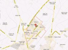 Location Plan FDA City Housing Scheme Faisalabad on Pindi Bhattian Faisalabad Motorway M3