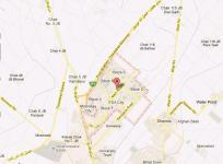 Location Plan FDA City Housing Scheme Faisalabad
