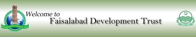 Faisalabad Development Trust Banner