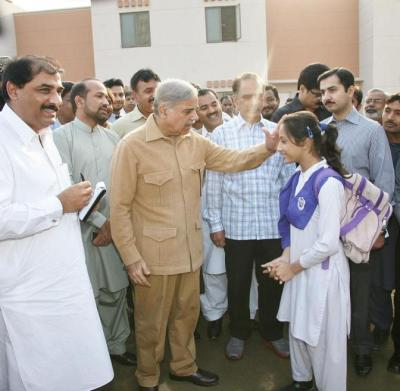 Shahbaz Sharif Visits Ashiana Housing Project Lahore 6