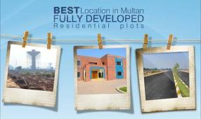 Mubarik Gardens at PGSHF Multan - Development work
