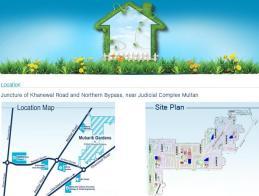 Mubarik Gardens at PGSHF Multan - Location and Master Plans
