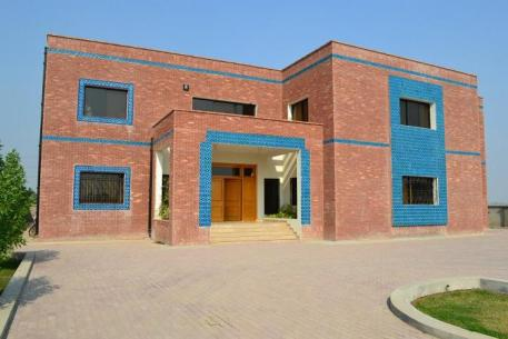 Mubarik Gardens at PGSHF Multan - Main Site-Project Office