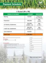 Murree Enclave Payment Plan 1 kanal plot