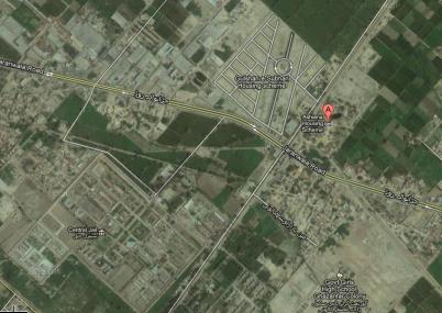 Satellite Map of Ashiana Housing Scheme Faisalabad