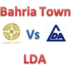 Bahria Town Vs LDA Lahore