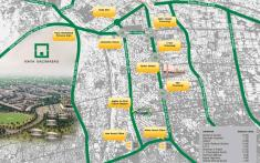 Naya Nazimabad Karachi Parkview Apartments Location Map