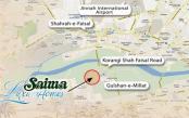 Saima Luxury Homes Karachi - Location Map