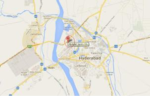 Abdullah Sports Towers Hyderabad - Location Map