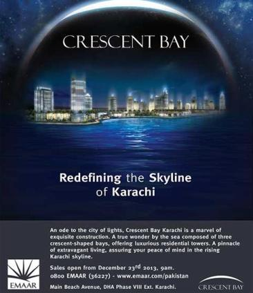 Emaar Group Launched Crescent Bays Residential Towers in Karachi