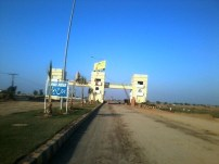 Lahore Motorway City Main Enterance
