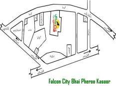 Falcon City Housing Scheme Location Map