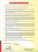 Falcon City Phool Nagar Housing Scheme Terms and Conditions