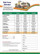 Madni Avenue Bahawalpur Payment Schedule