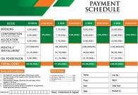 Payment Schedule Khudadad Heights Islamabad