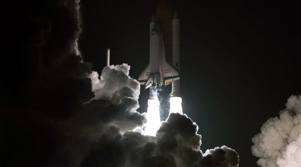 Launch of STS-8