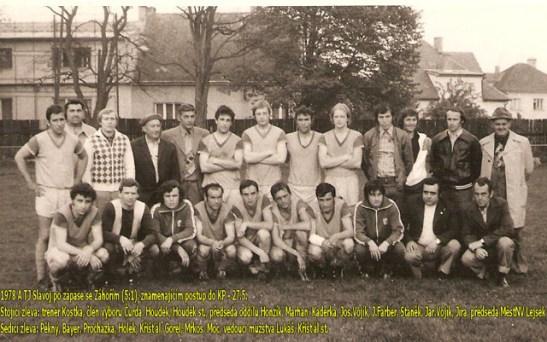 1978 - další slavný postup do KP