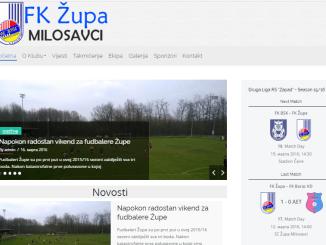 Naš novi Web Site