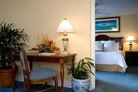 Photo of a hotel suite