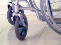 Photo of a wheelchair