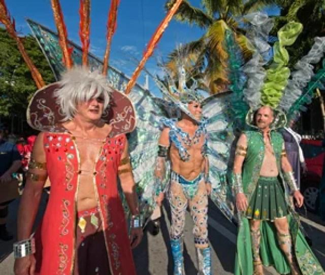 Fantasy Fest Masquerade March Key West