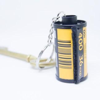 Porte Clef Pellicule Recyclée Kodak 400