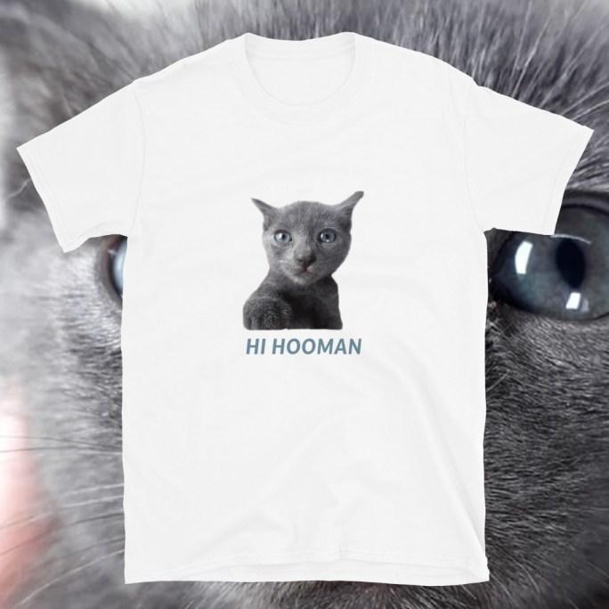 t shirt hi hooman