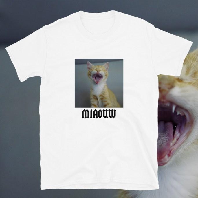 t shirt miaou