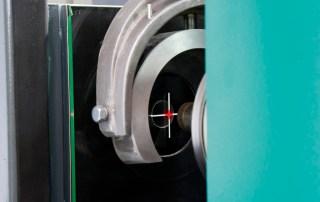Laserzentriereinrichtung