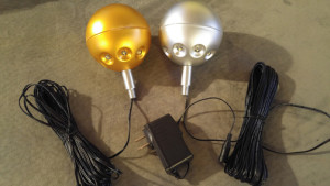 Gold Silver LED Ball Light -web- PolePalUSA