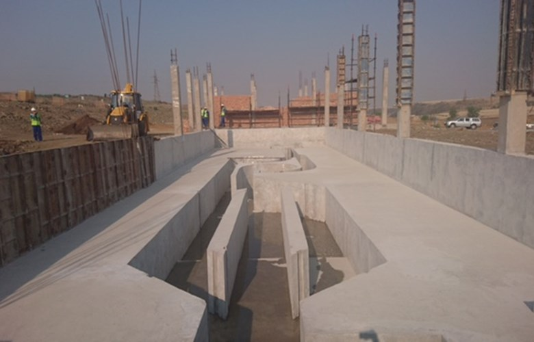 Construction of Namahadi Sewerage Pump Station, Frankfort