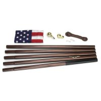 All American Series - Flagpole - Bronze