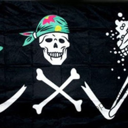 Halloween skeleton and beer flag 5x3ft