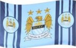 Manchester city flag 5ft x3ft