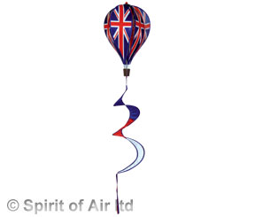 Union Jack balloon spinner