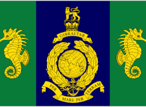 Commando Logistics Regiment - Royal Marines flag 5ft x3ft