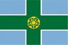 Derbyshire flag 5ft x 3ft