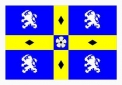 Durham county flag 5ft x 3ft