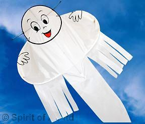 Buzzer Boo Ghost kite By Spirit of Air spooky Halloween style