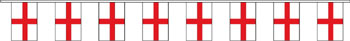 St George cross England bunting