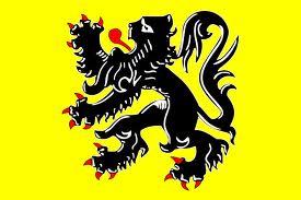 Flanders lion flag 5ft x 3ft