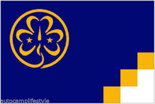 Girl guides flag 5x3ft