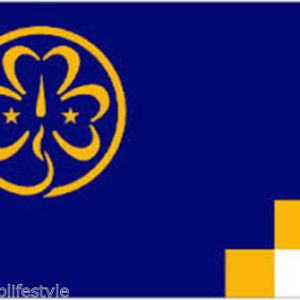 Girl guides flag 5x3ft