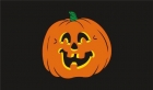 Halloween pumpkin jack o lantern flag 5x3ft