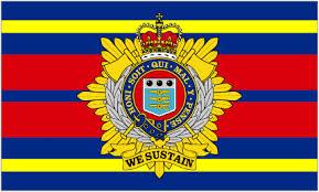 Royal Logistics corps flag 5ft x 3ft
