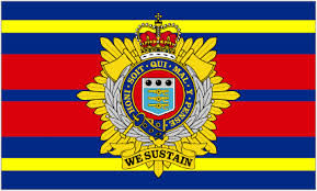 Royal Logistics corps flag 5ft x 3ft