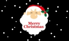 Santa merry christmas celebration christmas flag 5x3ft