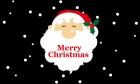 Santa merry christmas celebration christmas flag 5x3ft
